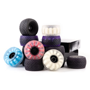 Foam Core eSkate Wheels 120mm - with ABEC11 Pulley