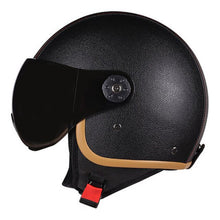 eBoard Leather Helmet with Visor- eSkate Protection