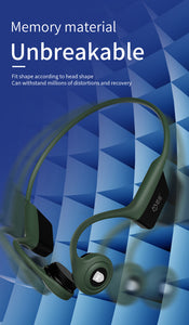 Smart Bone Conduction Headphone with Bluetooth