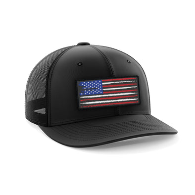 Headwear - USA Flag Patch | Fitted Cap