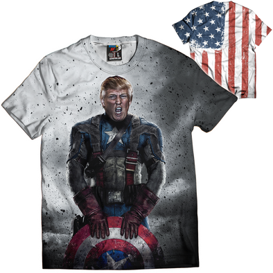 Captain Trump | Mens Tee