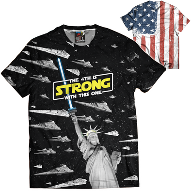 The 4th Is Strong With This One | Mens Tee