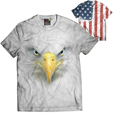 Eagle Face | Mens Tee