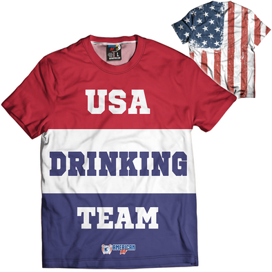 USA Drinking Team | Mens Tee
