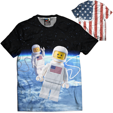 LEGO Independence Day | Mens Tee