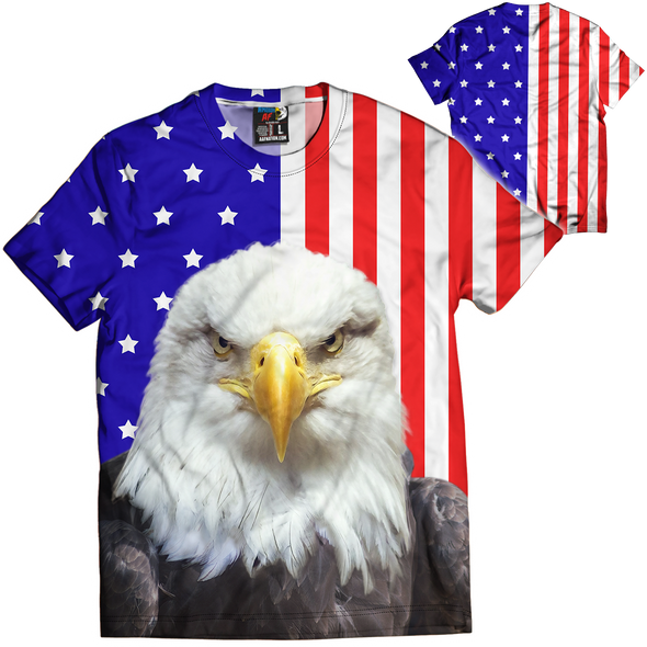 Eagle Flag | Mens Tee