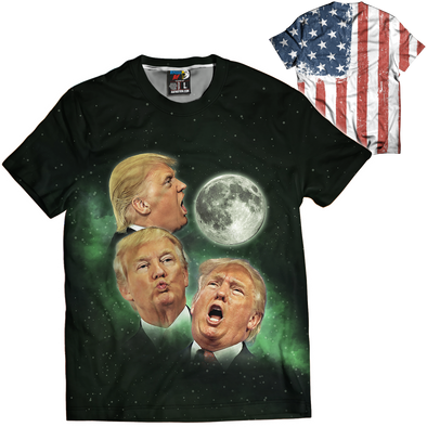 3 Trump Moons | Mens Tee