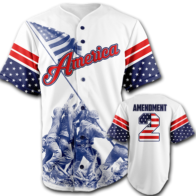 Team America 2nd Amendment | Baseball Jersey