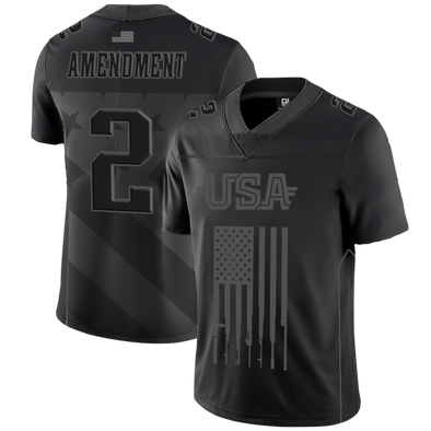 Team USA 2nd Amendment Blackout Edition | Football Jersey