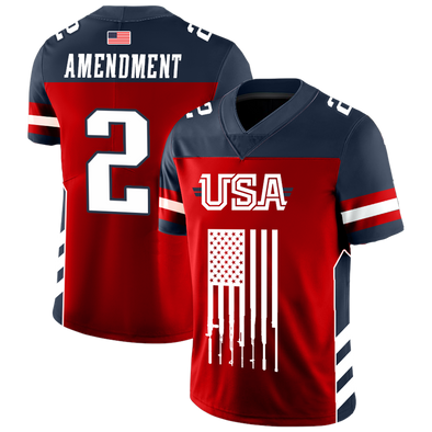 Team USA 2nd Amendment | Football Jersey