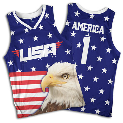 Eagle America #1 | Basketball Jersey