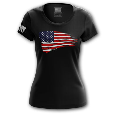 Women's Shirt - American Flag | Women's Tee