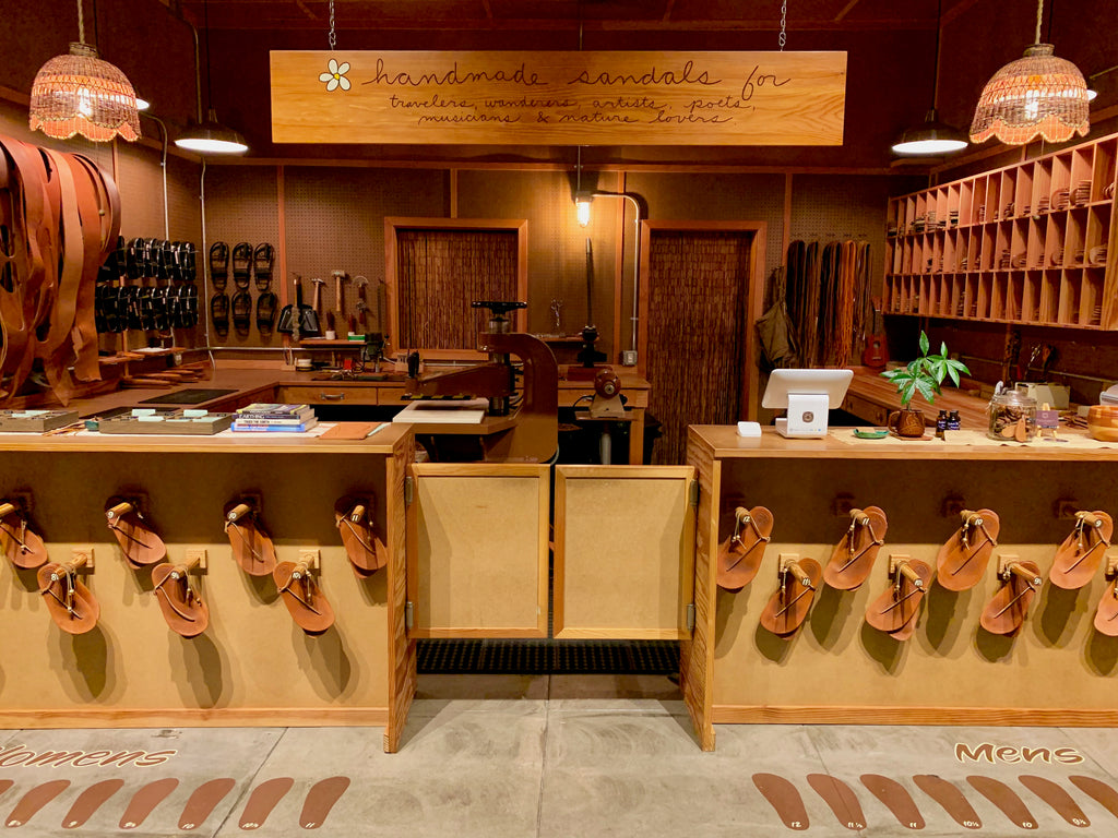 Good Earth Sandals - Barefoot Leather Sandals Flagship Store In Hilo, Big Island Hawaii