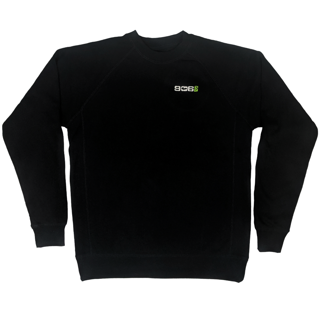 906AT Raglan Crewneck