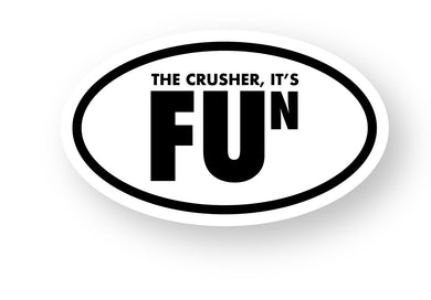 Crusher FUN Sticker