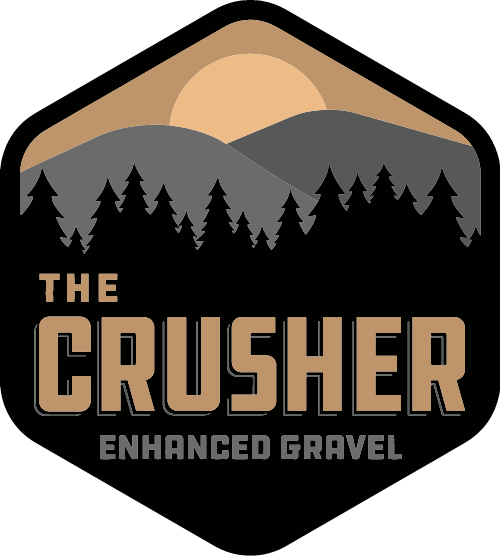 Crusher Logo Sticker