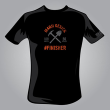 Load image into Gallery viewer, Marji Gesick #FINISHER T-Shirt - OLD LOGO