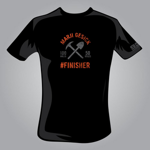 Marji Gesick #FINISHER T-Shirt - OLD LOGO