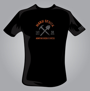Marji Gesick #UNFINISHEDBUSINESS T-Shirt - OLD LOGO