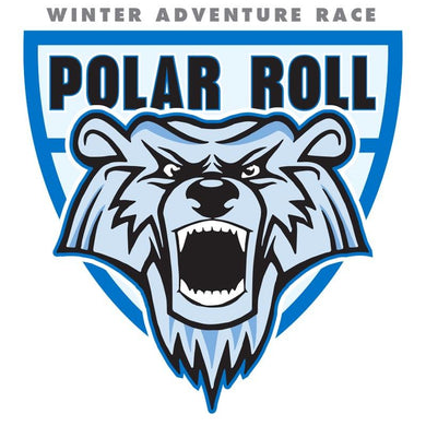 Polar Roll Bear Logo Sticker