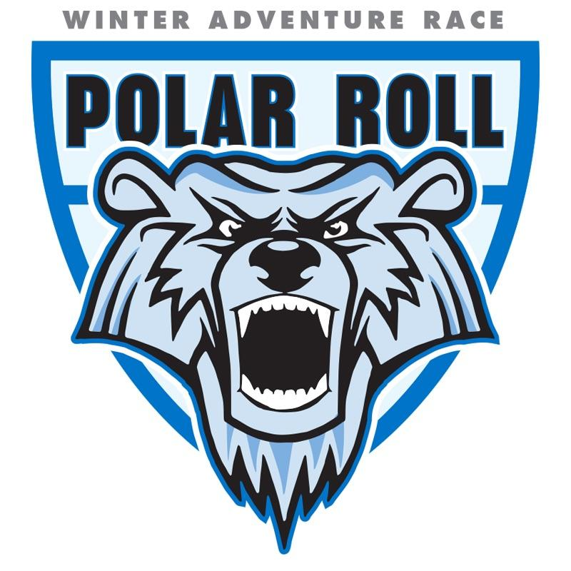 Polar Roll Logo Sticker