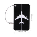 Aluminium Travel Luggage Tag