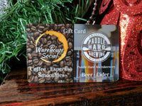 Microbrewery and Coffee House Gift Card