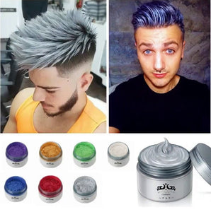 Japanese Colored Hair Wax - Temporary Styling Dye