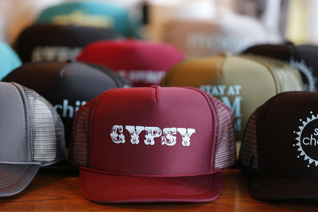 Trucker hats made in Santa Barbara California