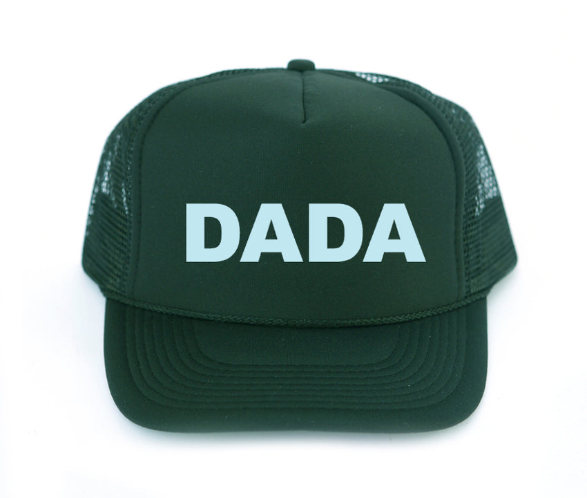Dada trucker hat in dark green