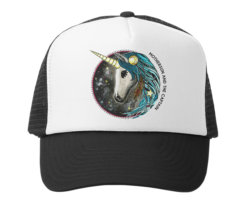 Unicorn Baby Trucker Hat