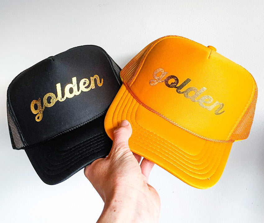 The Golden Trucker Hat    *More Colors*
