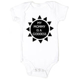My Mommy is a Goddess Organic Baby Onesie