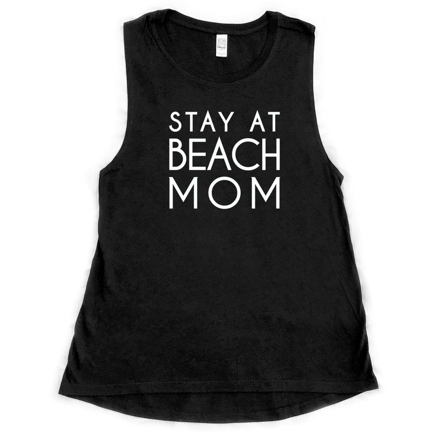 stay at beach mom, bamboo tank, nursing friendly, breastfeeding clothes