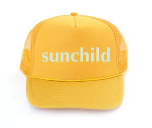 sun child trucker hat for kids