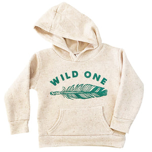 organic use made wild one hoody for kids