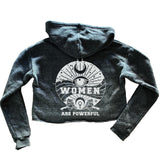 Women Are Powerful Eco Crop Hoody
