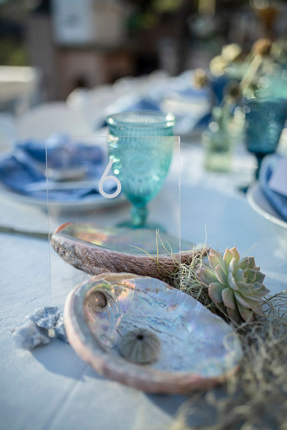 nautical wedding table arrangements