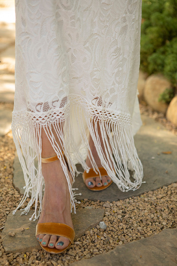 Bohemian bride shoes Sam Edelman