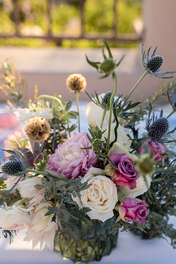 Santa Barbara wedding floral arrangements