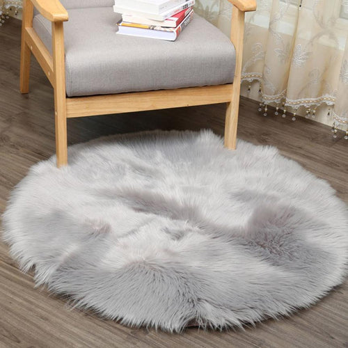 Artificial Soft Sheepskin Rug - Artificial Soft Sheepskin Rug - Home & Garden- Black Lily My BeezNest newborn