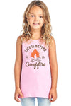Life Is Better By The Campfire Round Neck - Life Is Better By The Campfire Round Neck - Kids & Babies- Spocket My BeezNest newborn