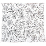 "Swaddle Blanket ""Spring Flowers"""