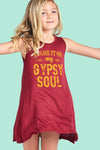 Blame It On My Gypsy Soul - Sleeveless Dress - Blame It On My Gypsy Soul - Sleeveless Dress - Kids & Babies- Spocket My BeezNest newborn