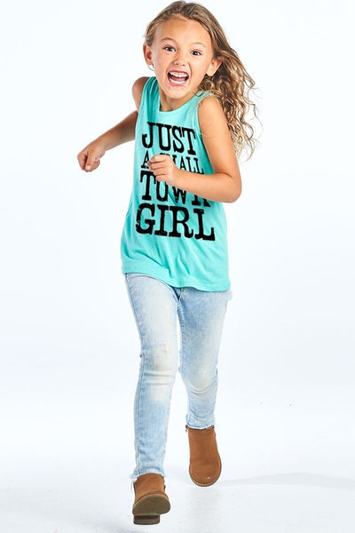 Just A Small Town Girl Sleeveless Top - Just A Small Town Girl Sleeveless Top - Kids & Babies- Spocket My BeezNest newborn
