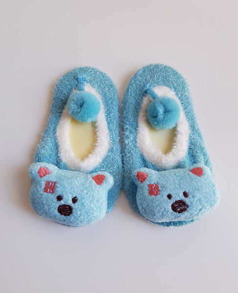 Soft Animal Slippers - Soft Animal Slippers - Socks- My BeezNest My BeezNest newborn