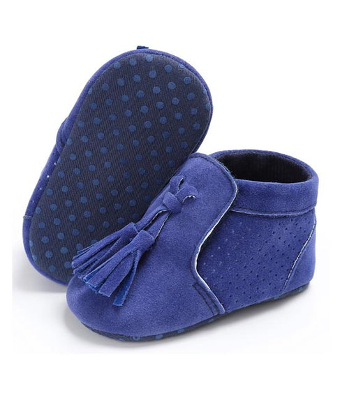 Soft Suede Leather Moccasins - Soft Suede Leather Moccasins - Shoes- My BeezNest My BeezNest newborn