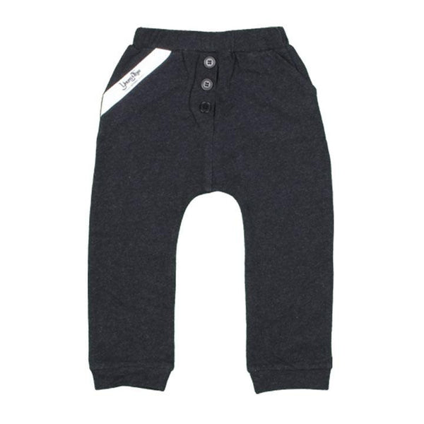 Baby and Toddler Boy's Cotton Lounge Pants - Charcoal - Baby and Toddler Boy's Cotton Lounge Pants - Charcoal - Kids - Boys - Apparel- Young and Free Apparel My BeezNest newborn