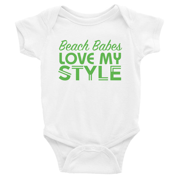 Beach Baby Infant Bodysuit - Beach Baby Infant Bodysuit - - My BeezNest My BeezNest newborn