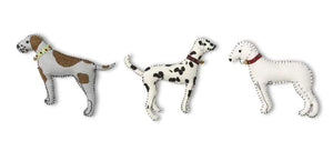 Dalmation Felt Ornament